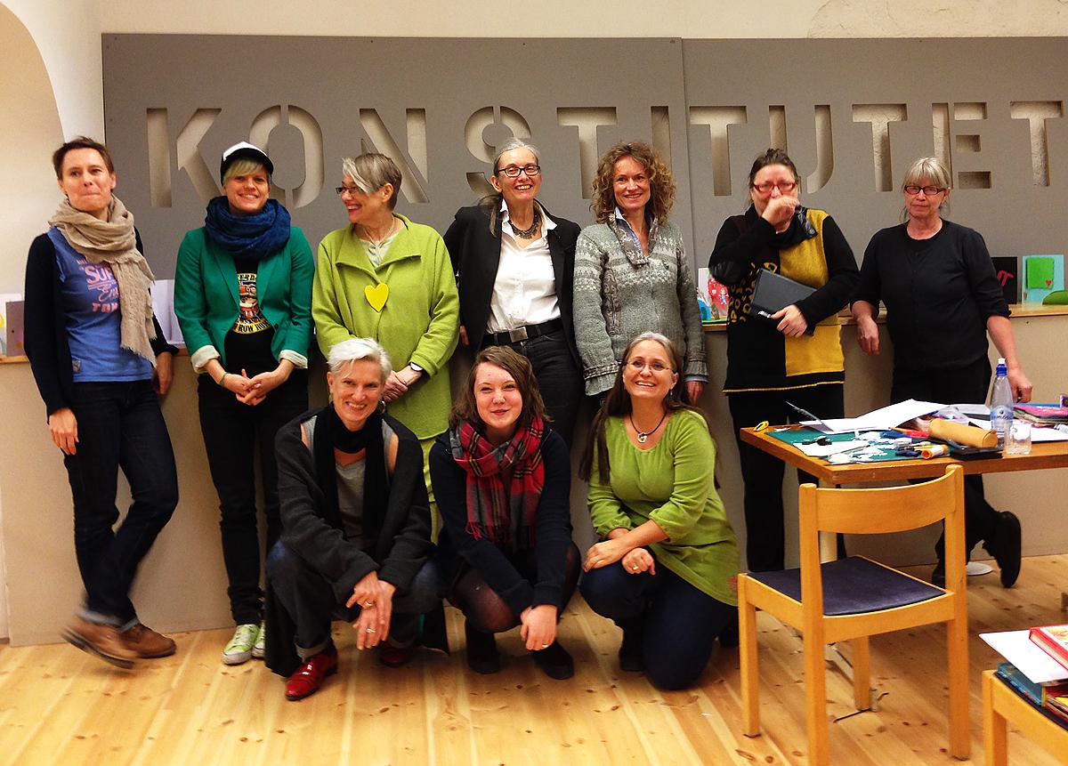 Deltagare workshop mars 2014