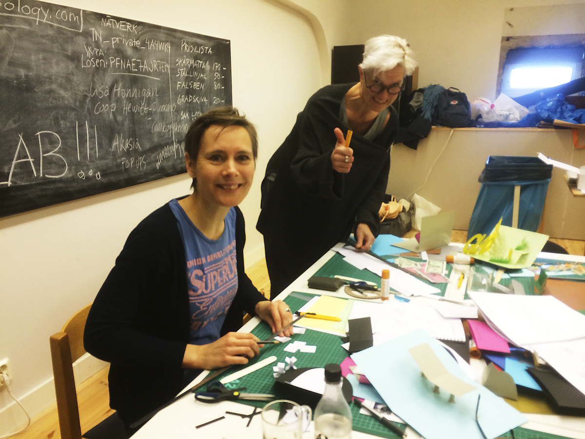 Linda och Helle workshop mars 2014