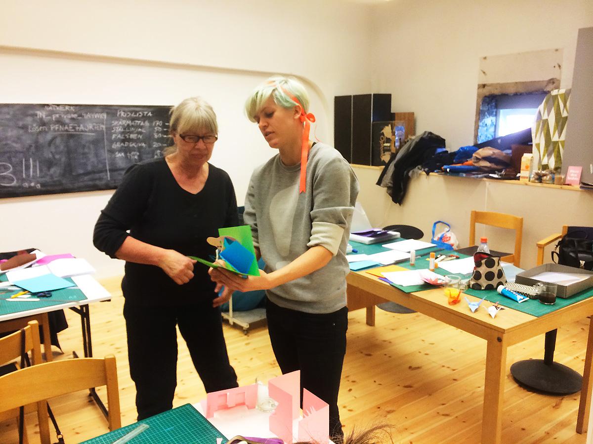 Ingegerd och Ida, mars 2014